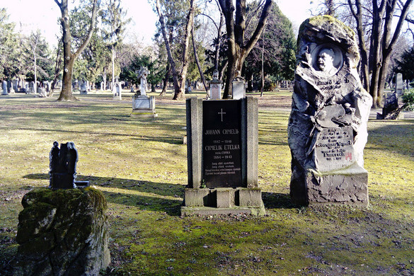 """""""Szakértői bizottság""""  a Szent András temetőben"""