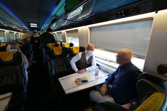 Több vonat járhat gyorsabban Bécsbe