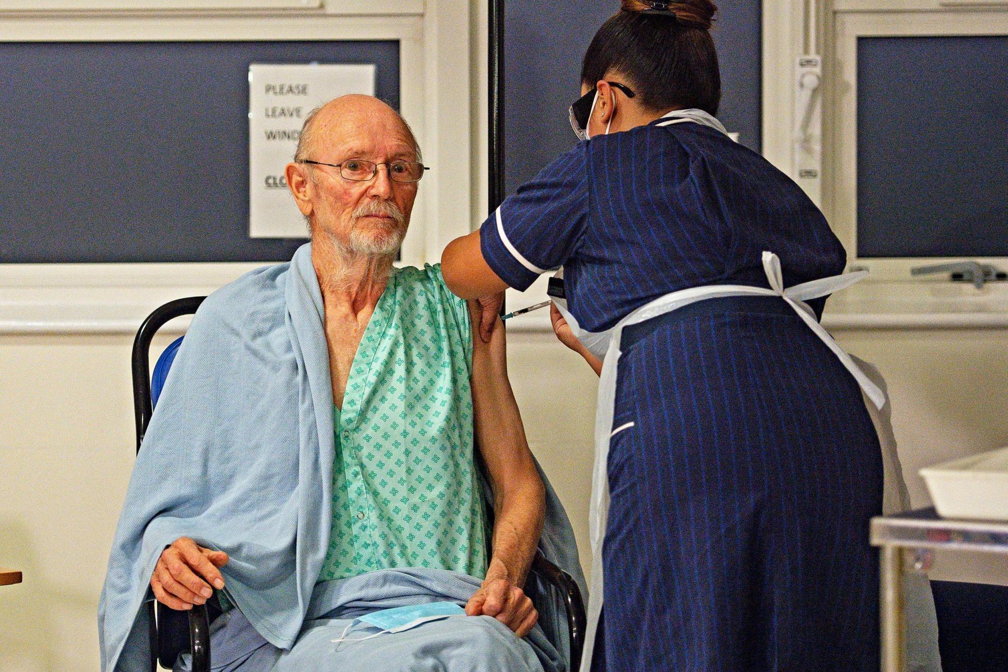 "A 81 éves William ""Bill"" Shakespeare, a második páciens"