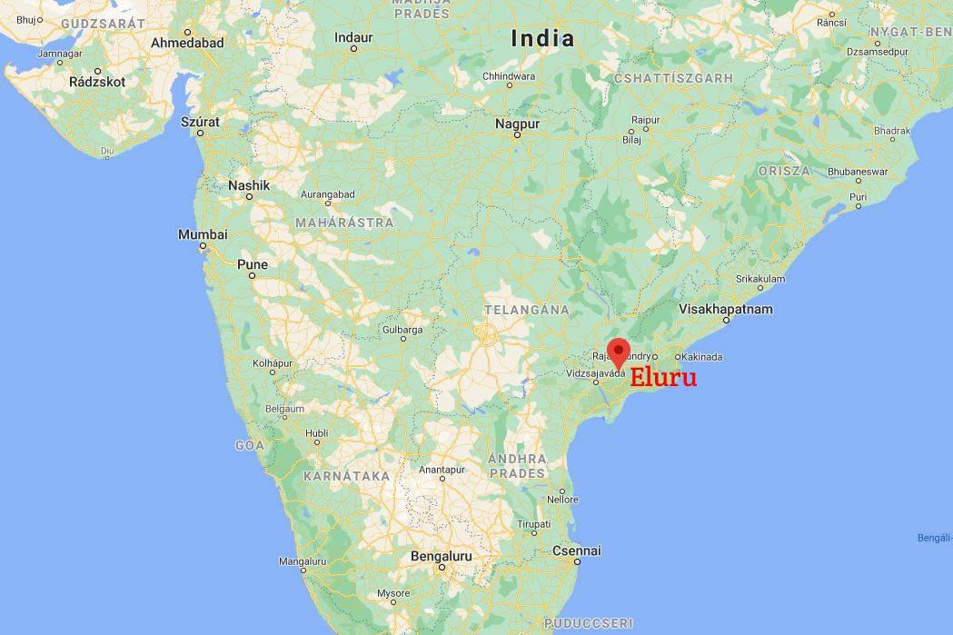 Andhra Pradesh államában több százan betegedtek meg vasárnap éjjelre