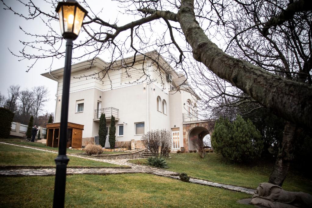 A Budapest II. kerületében fekvő hajdani Kádár-villa