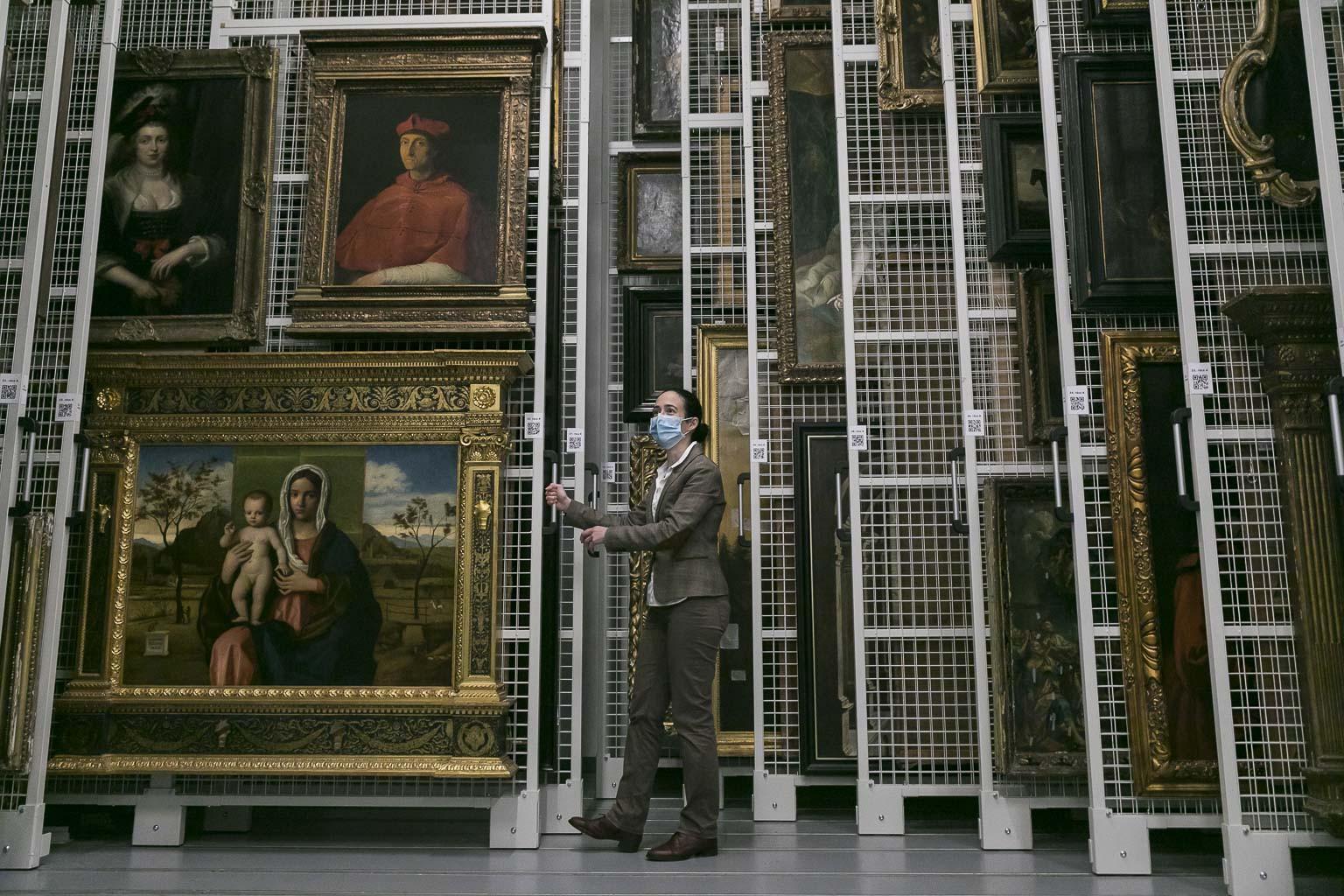 Több mint háromszázezer műtárgyat őriznek majd a világszínvonalú múzeumi háttérintézményben