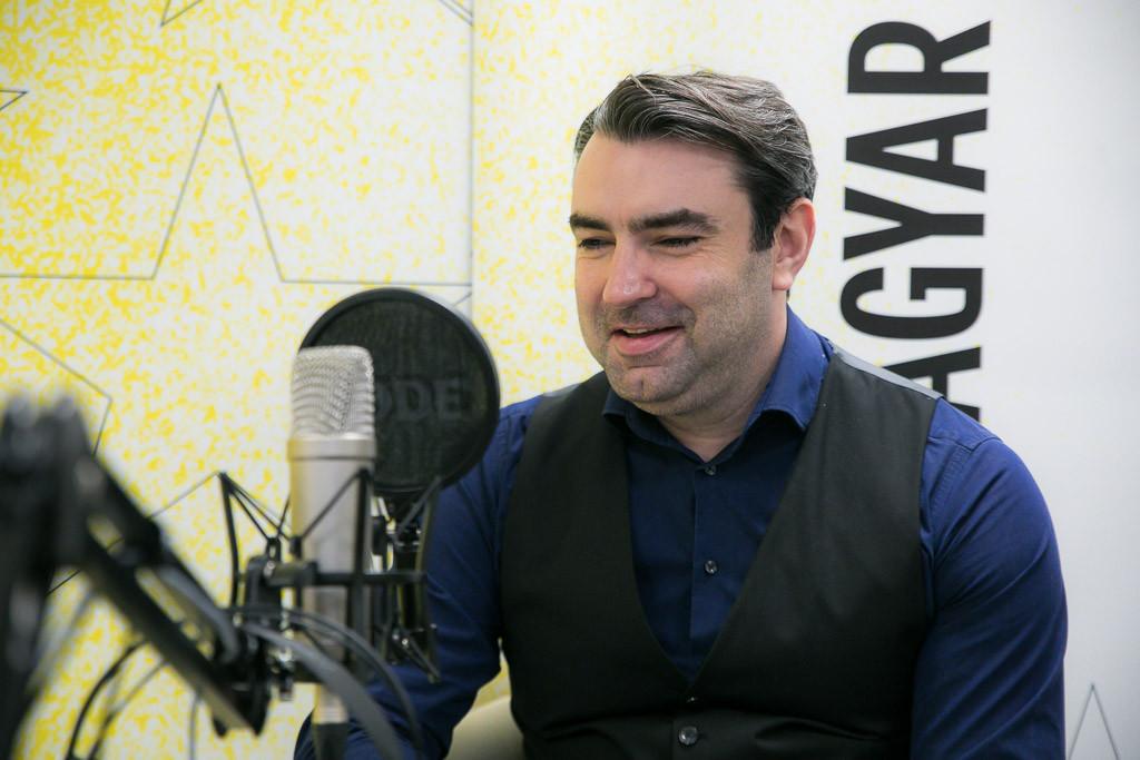 Ifj. Lomnici Zoltán alkotmányjogász, a Századvég Alapítvány jogi szakértője a Faktum adásának felvételén