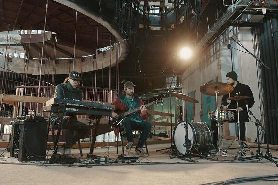 A Jazzbois zenekar is kipróbálta az épülő Magyar Zene Háza majdani színpadát