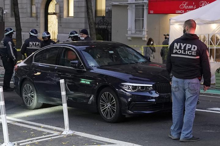 Autó hajtott a Black Lives Matter mozgalom tüntetői közé Manhattanben