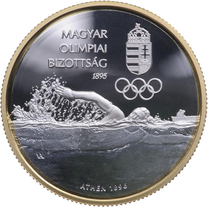 Emlékérmét bocsátottak ki a 125 éves Magyar Olimpiai Bizottság tiszteletére