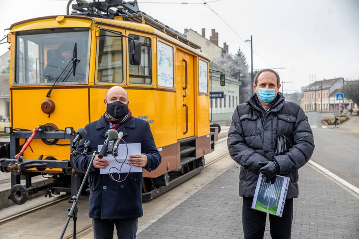 Elkezdődött a hódmezővásárhelyi villamosvonal tesztelése