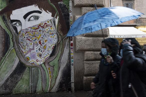 Olaszországban egy nap alatt 993 beteg halt meg
