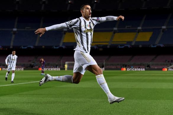 Ronaldo duplázott, simán nyert Barcelonában a Juventus
