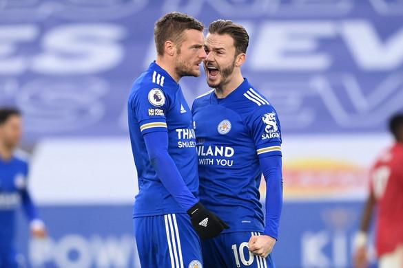 A hajrában mentett pontot a Leicester City