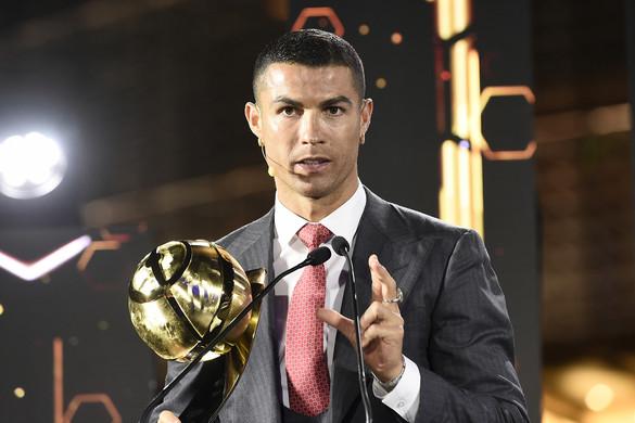 Cristiano Ronaldo lett az évszázad legjobb futballistája