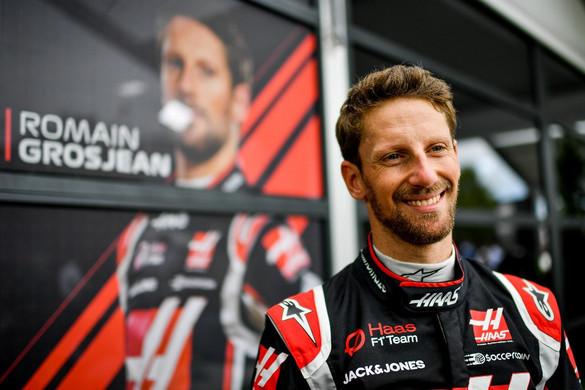 Kiengedték a kórházból a horrorbalesetet szenvedett Romain Grosjeant