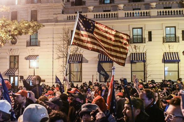 Ismét tüntettek Trump mellett több amerikai városban