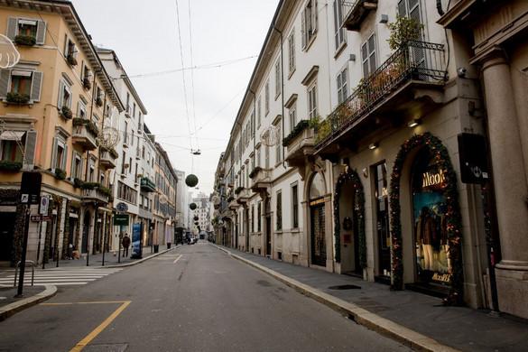 Olaszország zárlat alá került szilveszterre és az új évre