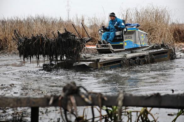 Több ezer liter olajszármazékot szállítottak el a szigetszentmiklósi szennyezés helyszínéről
