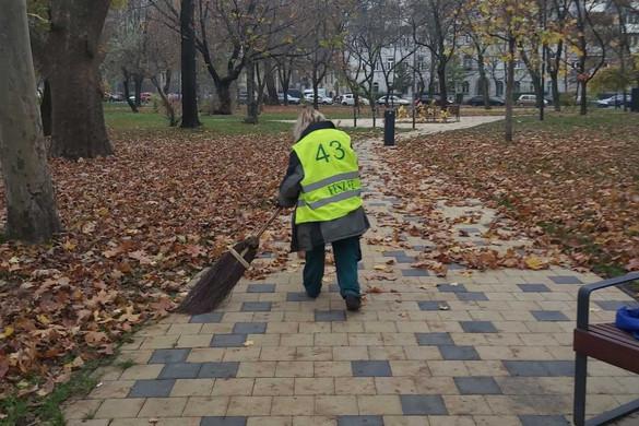 Megszámozták Baranyiék a közterületeken dolgozókat