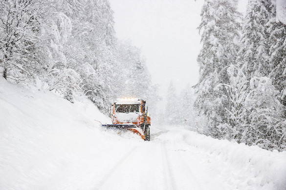 Hatalmas a havazás Ausztriában