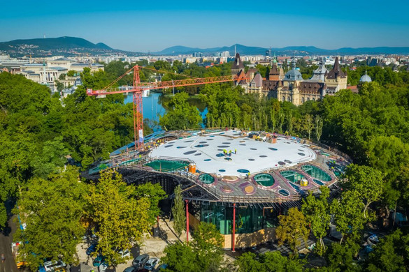 Az idei év legjobban várt épületei közé sorolta a Magyar Zene Házát a CNN
