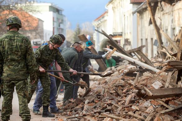 A MOL segíti a földrengés károsultjait Horvátországban