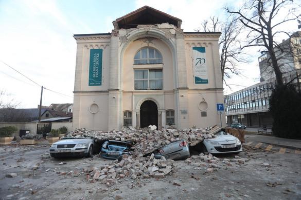 Egyre több halottja van a horvátországi földrengésnek