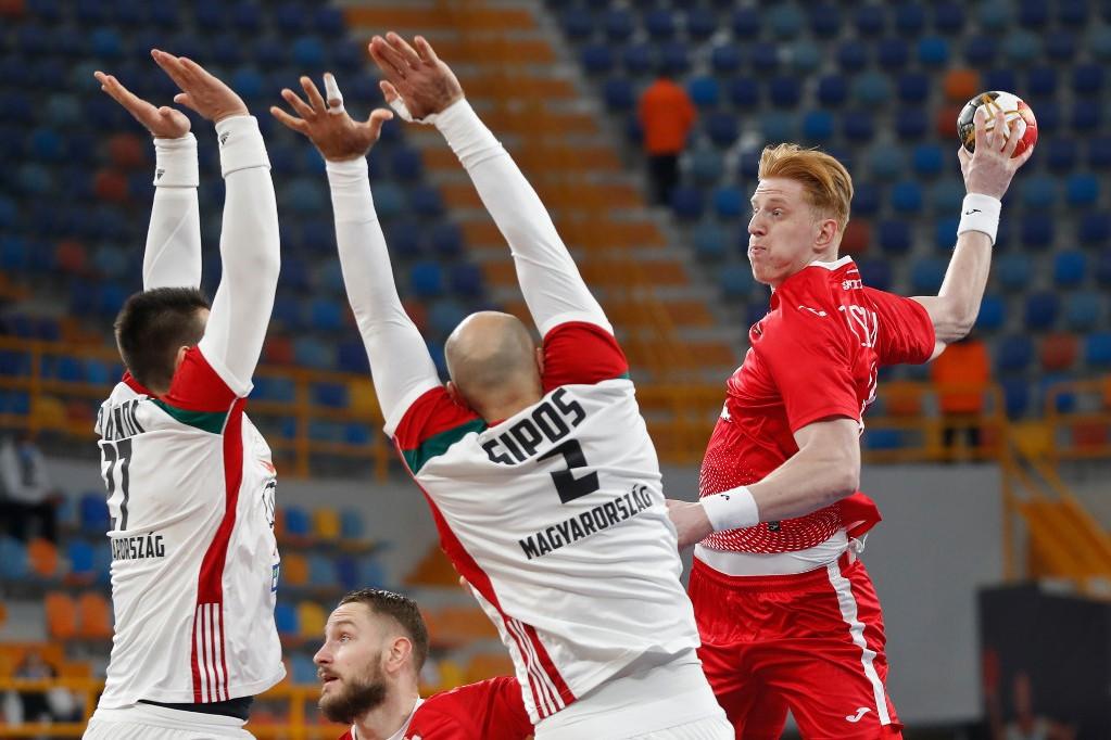 A magyar válogatott Lengyelországgal találkozott az egyiptomi férfi kézilabda-világbajnokságon