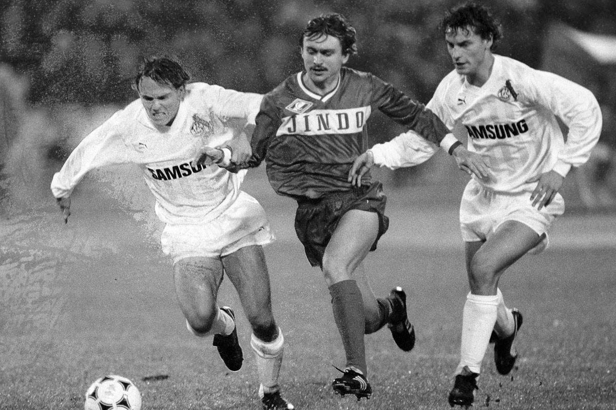 Cserenkov (középen) foghatatlan, zseniális játékos volt