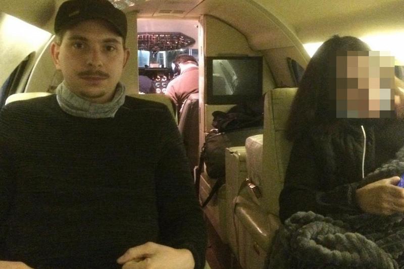 Samu Tamás Gergő a jet bőrülésében