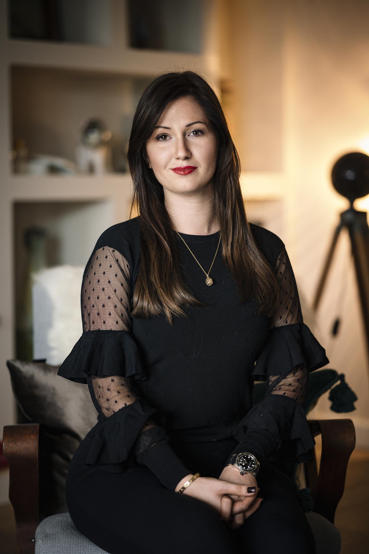 Hidvégi Krisztina, a verseny névadó partnere, a Lounge Group médiaigazgatója