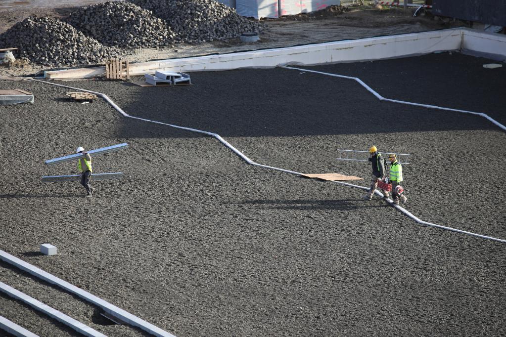 Folyamatosa zajlanak az építkezések a Városligetben