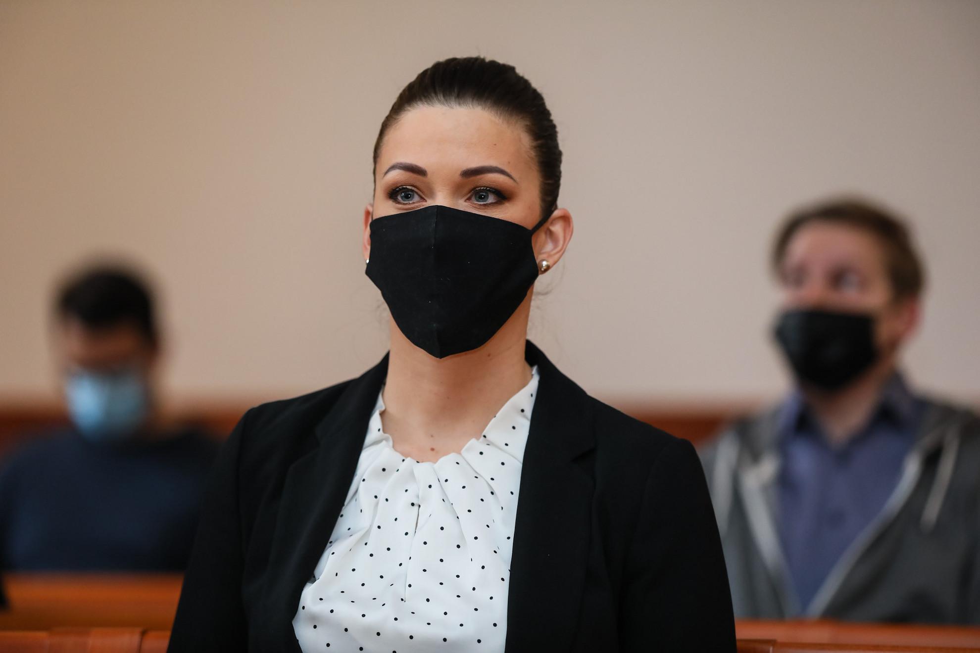 Demeter Márta a Pesti Központi Kerületi Bíróságon