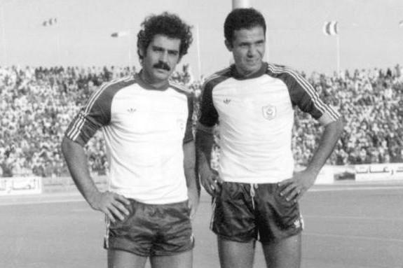 Rivelino (balra) a szaúdi Al-Hilal játékosaként