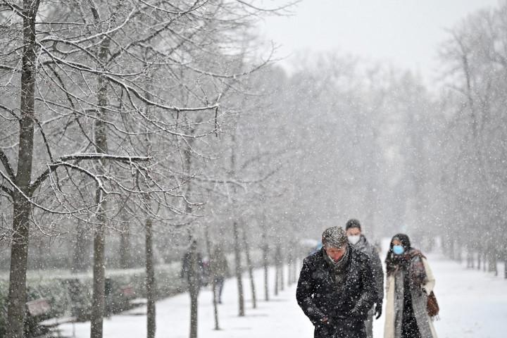 Évtizedek óta nem látott hideget mértek Spanyolországban