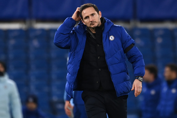 A Chelsea kirúgta Frank Lampardot