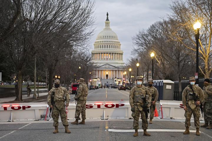 Erőd lett a Capitolium Joe Biden beiktatására