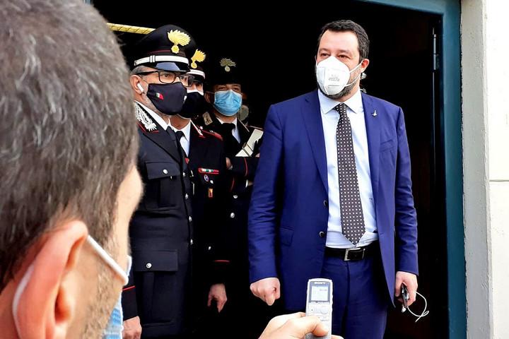Salvini újra bíróság előtt a Gregoretti-ügy miatt