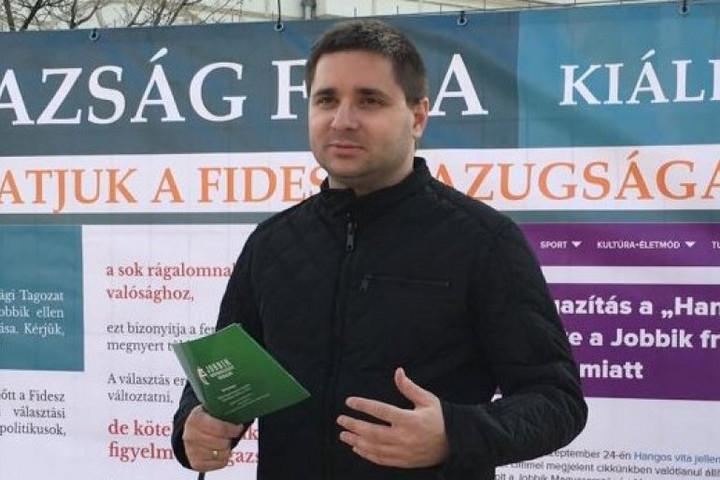 A volt jobbikos képviselő lemondását követeli a Fidelitas