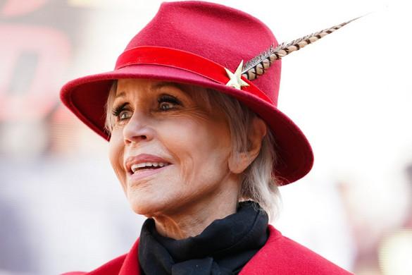 Jane Fonda életműdíjat kap a Golden Globe-gálán
