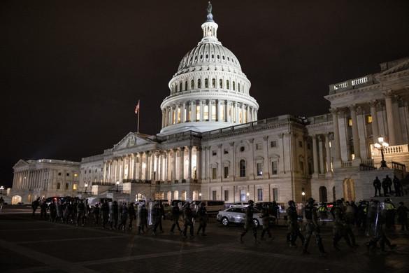 Négy halottja van a Capitolium ostromának