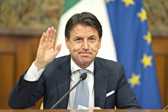 Búcsúzott Conte