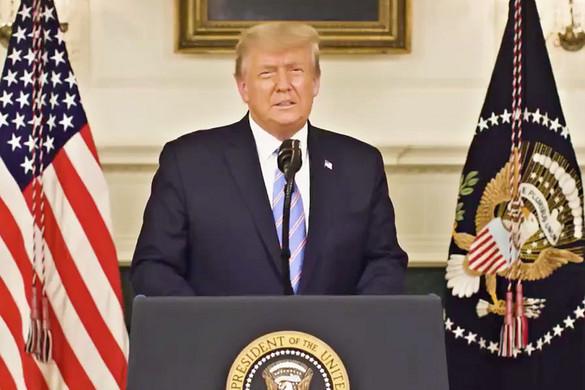 Trump: Amerika a törvény és rend nemzete