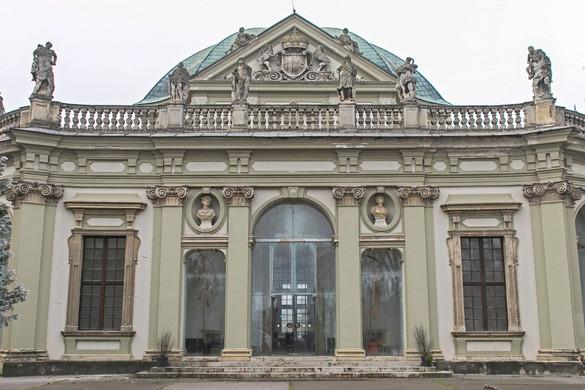 A hadvezér pompás barokk kastélya