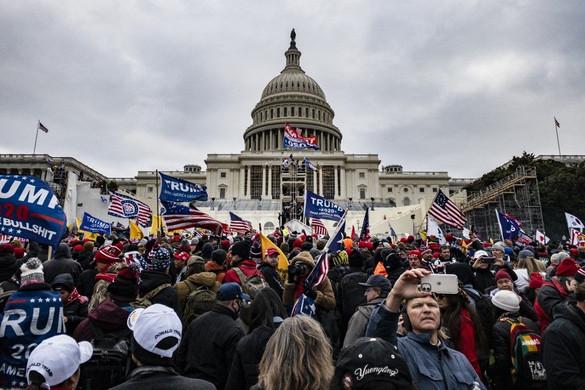 Trump híve volt a Capitolium ostroma miatt meghalt rendőr