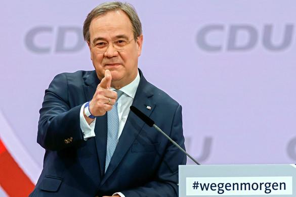 Armin Laschetet  választották  aCDU elnökének