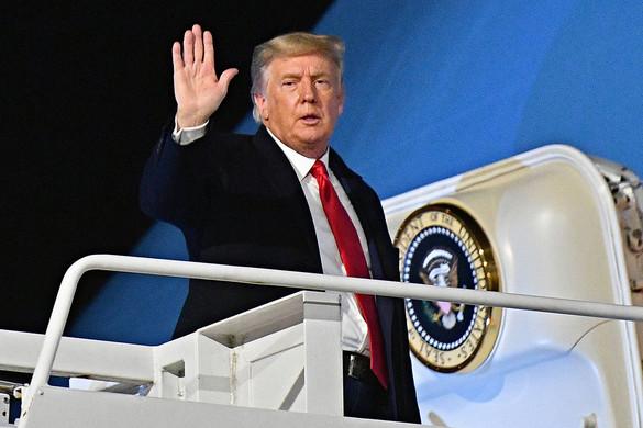 Trump megköszönte az elmúlt négy évet