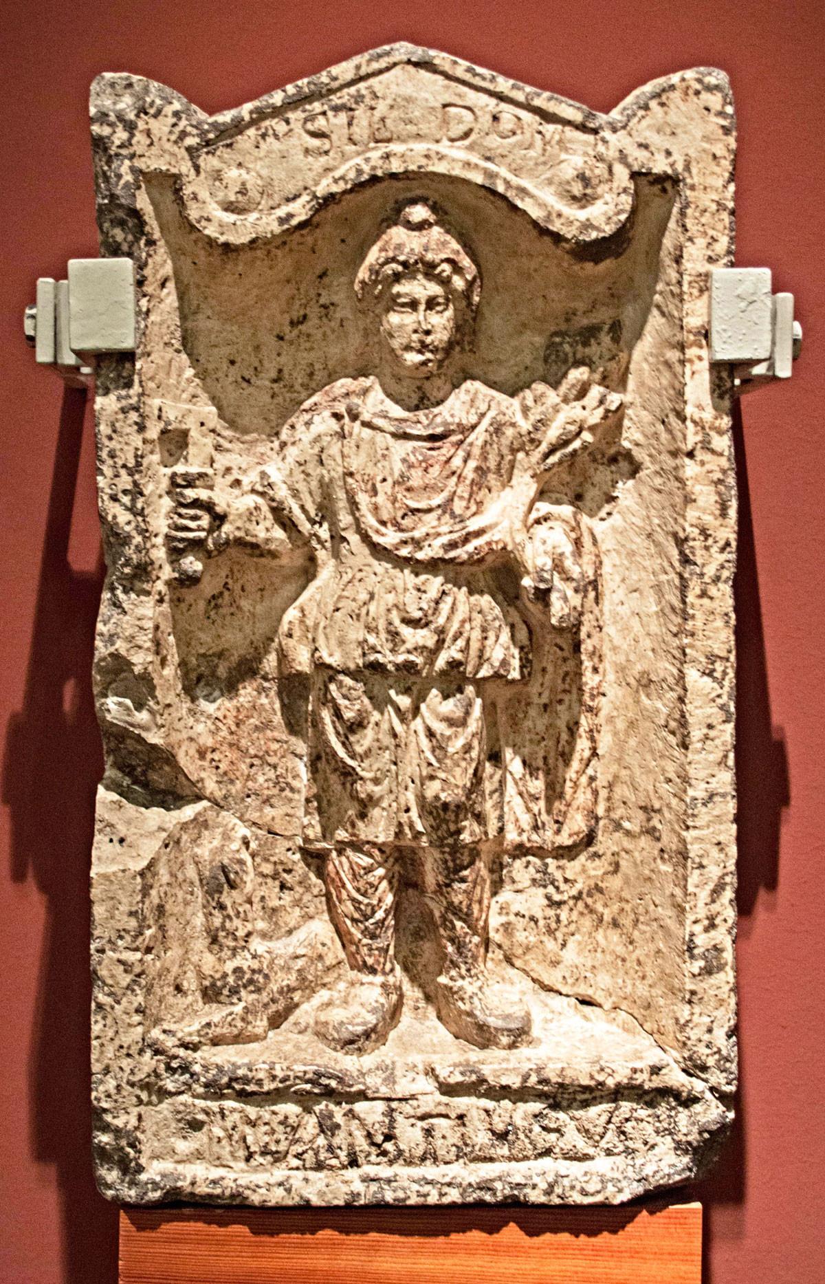 Fogadalmi ajándék Silvanusnak Aquincumból