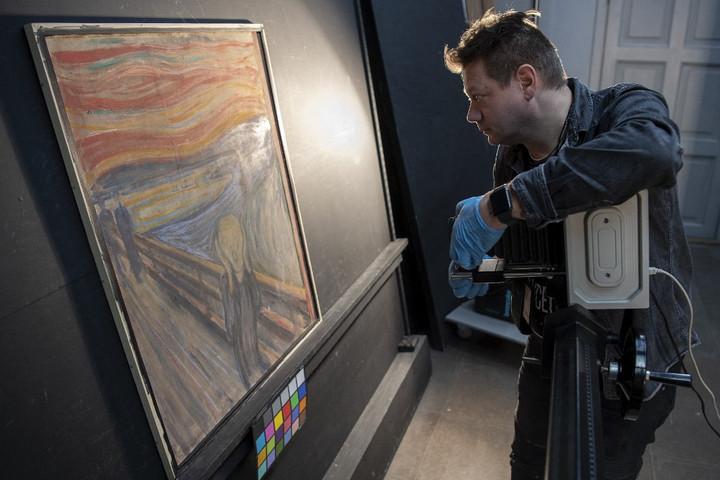 """Maga Edvard Munch írta rá a Sikolyra, hogy """"csak egy őrült festhette"""""""