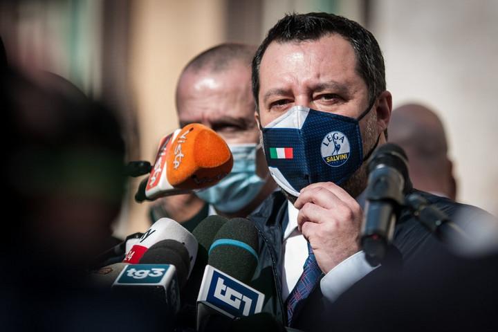 Salvini: A jobbközép kormányzó pozícióba kerül Draghi miniszterelnökségével