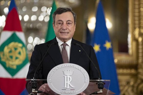 Az olasz szenátus is bizalmat szavazott a Draghi-kormánynak