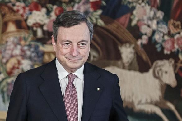 Draghi mögött a parlament nagy többsége