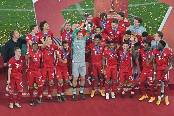 Teljes a Bayern kupagyűjteménye
